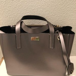 NWT Authentic Kate Spade Black Satchel WKRU4824